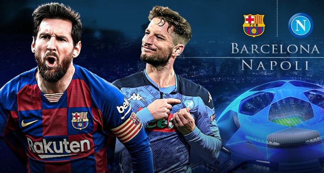 Rojadirecta Barcellona Napoli Streaming Gratis Link Diretta TV Formazioni.