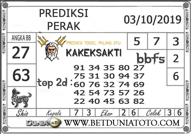 """Prediksi Togel """"PERAK"""" DUNIA4D 03 OKTOBER 2019"""