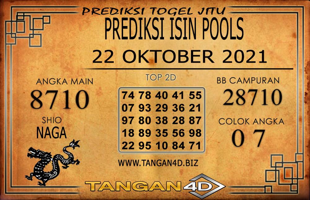 PREDIKSI TOGEL ISIN POOLS TANGAN4D 21 OKTOBER 2021