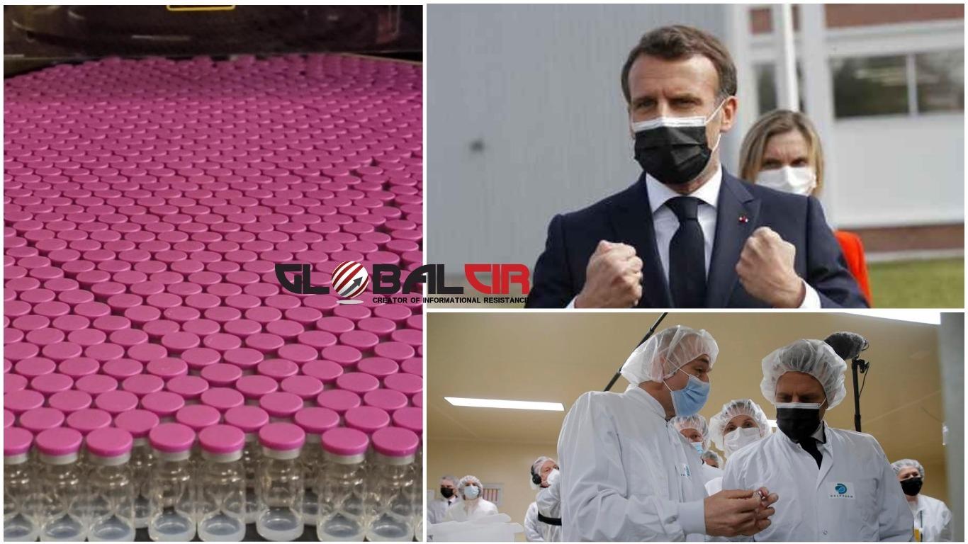 VAKCINACIJA JE 'KOLEKTIVNI RATNI NAPOR'! Emmanuel Macron posjetio tvornicu 'Trampove vakcine': 'USA su pobijedile kada je riječ o vakcinama protiv COVIDA-19'