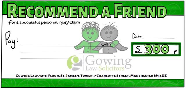 loyalty scheme dummy cheque