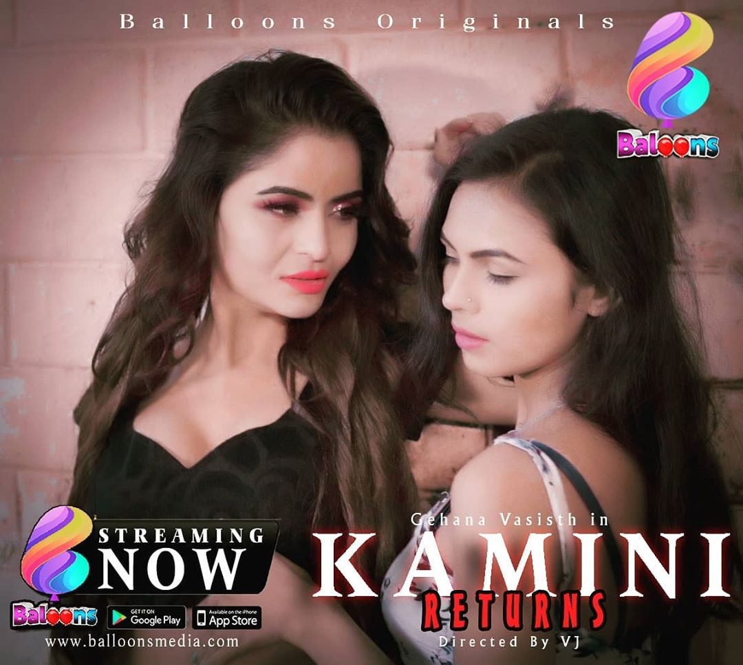 18+ Kamini Returns 2021 S01 Hindi Balloons Complete Web Series 720p HDRip 700MB Download