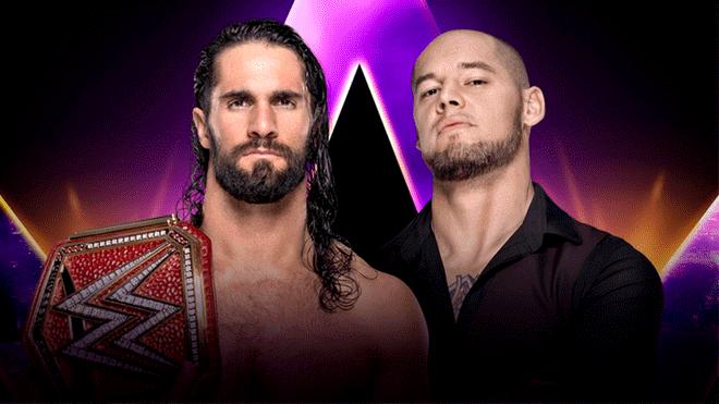 Seth Rollins vs Baron Corbin