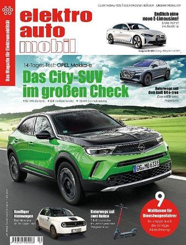 Cover: Elektroautomobil Magazin No 04 August-September 2021
