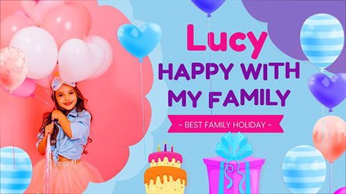 Happy Birthday Lucy 32334481 - Project for After Effects (Videohive)