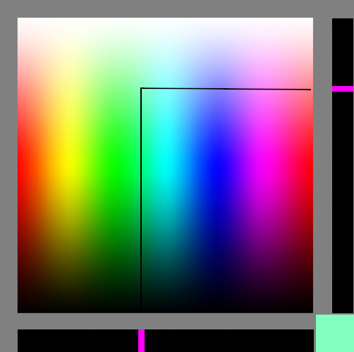 Spectrums-representing-RGB-color-space-Created-using-gradient-meshes-and-simple-rectangles