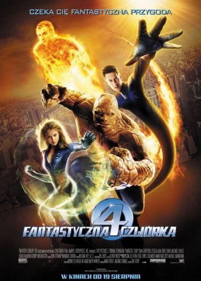 Fantastyczna czwórka / Fantastic Four (2005) PL.BRRip.XviD-GR4PE | Dubbing PL
