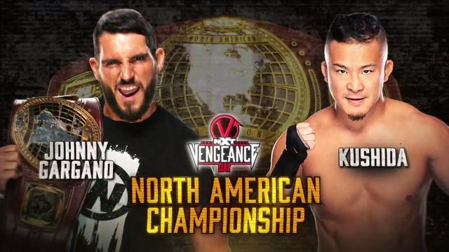 Gargano vs Kushida TakeOver Vengeance Day
