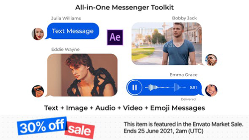 Messenger Toolkit V3.1 25647819 - Project for After Effects (Videohive)