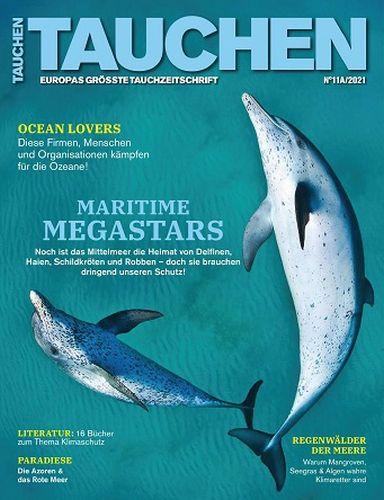 Cover: Tauchen Magazin No 11 Oktober 2021