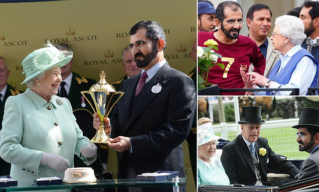 queen-prince-UAE