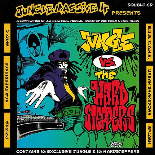 VA - Jungle Massive 4 Presents: Jungle vs. The Hardsteppers 1995