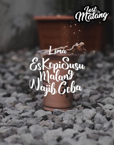 5 Es Kopi Susu Malang, Paling Hits Wajib Coba !