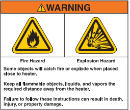 Clearances to Combustibles Safety Issues