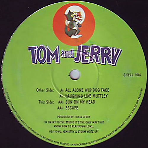Tom And Jerry - All Alone Wid Dog Face 1993
