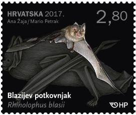 2017. year HRVATSKA-FAUNA-I-MI-I-BLAZ-EV-POTKOVNJAK