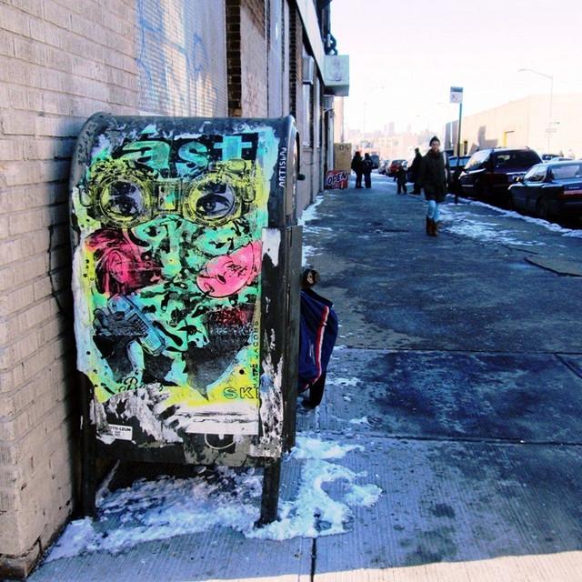 Bast street art in Bushwick NYC1