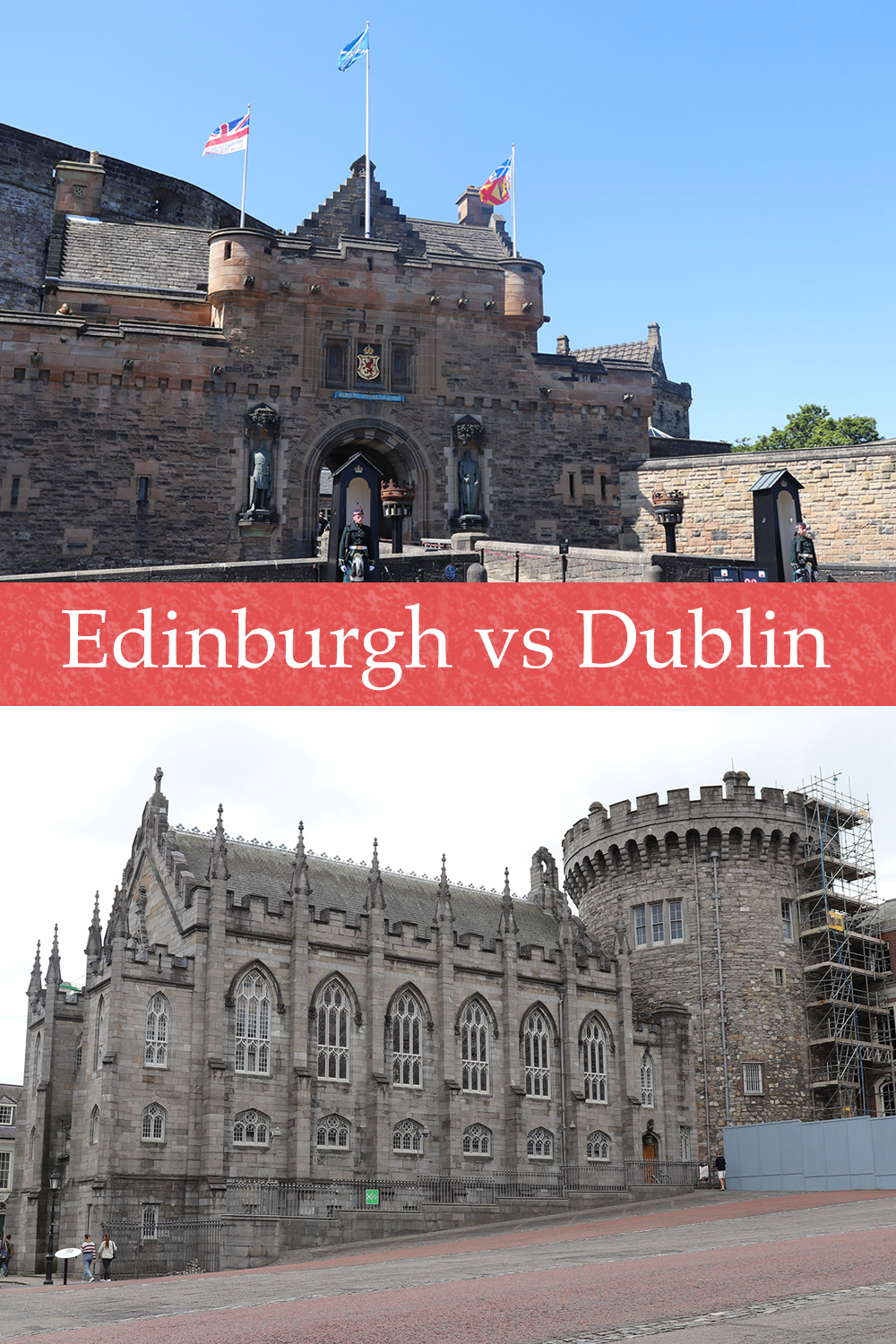 Edinburgh vs Dublin