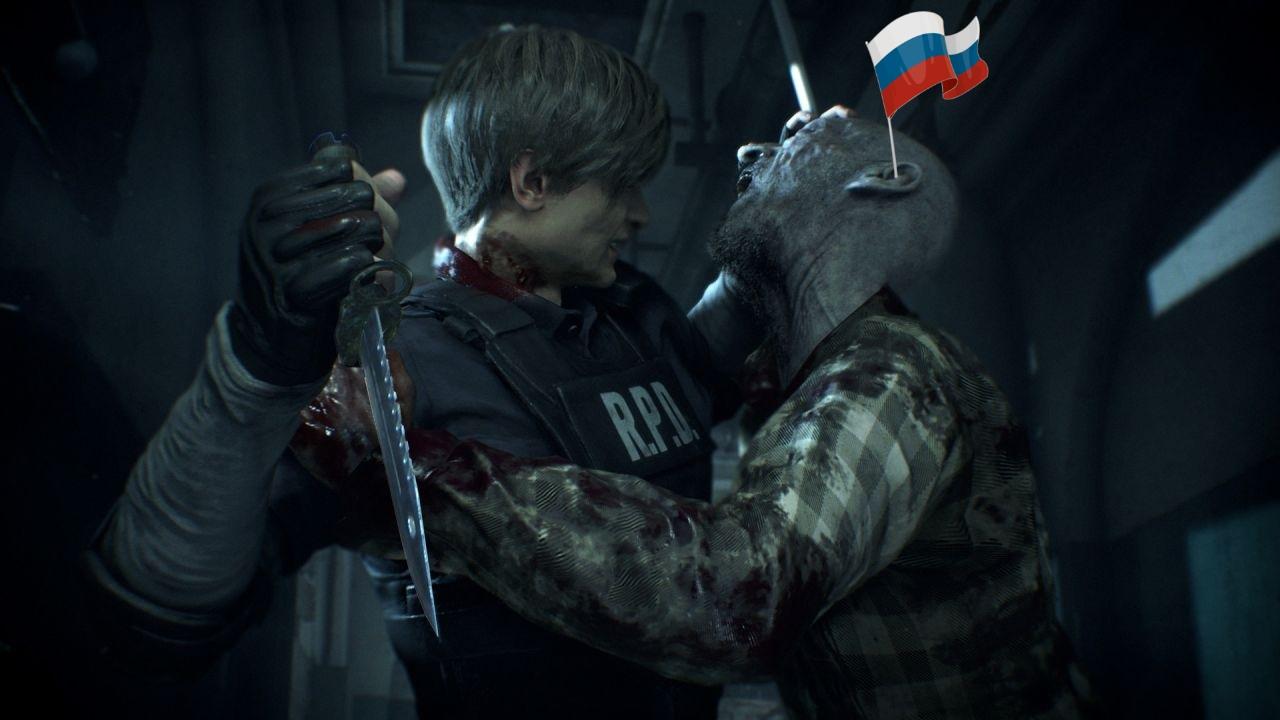 Resident Evil 2 Remake - S Rank Леон Прохождение Часть 2: Гараж