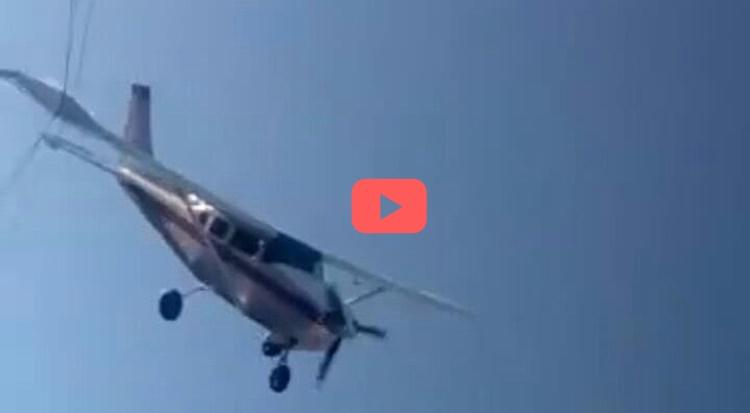 Identifican victimas de avioneta caída en Sinaloa #VIDEO