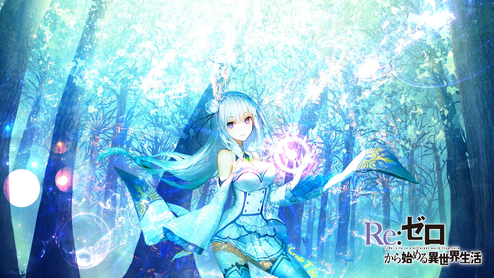 Пресет Эмилии из Re:Zero для COM3D2 (RU)