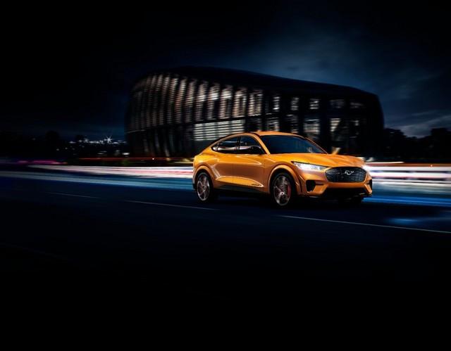 La Mustang Mach-E GT 100% électrique à l'assaut de l'Europe : tout simplement la meilleure accélération de sa catégorie  1600941658203