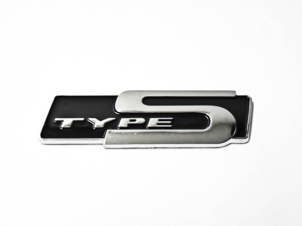 For Honda Acura Type S Emblem Black Badge Sticker Letter Decal 3d Rsx Jdm New Ebay