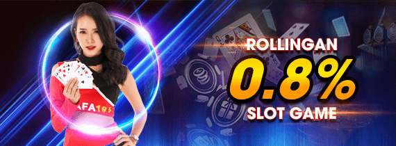 ROLLINGAN 0.8% SLOT GAME