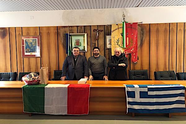 Αδελφοποίηση της Ιερής Πόλης Μεσολογγίου με την Grecìa Salentina