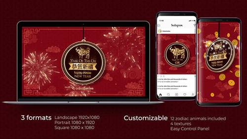 Chinese New Year Intro 29965879 - Project for After Effects (Videohive)
