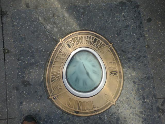 William Barthman Jewelers Sidewalk Clock.jpg