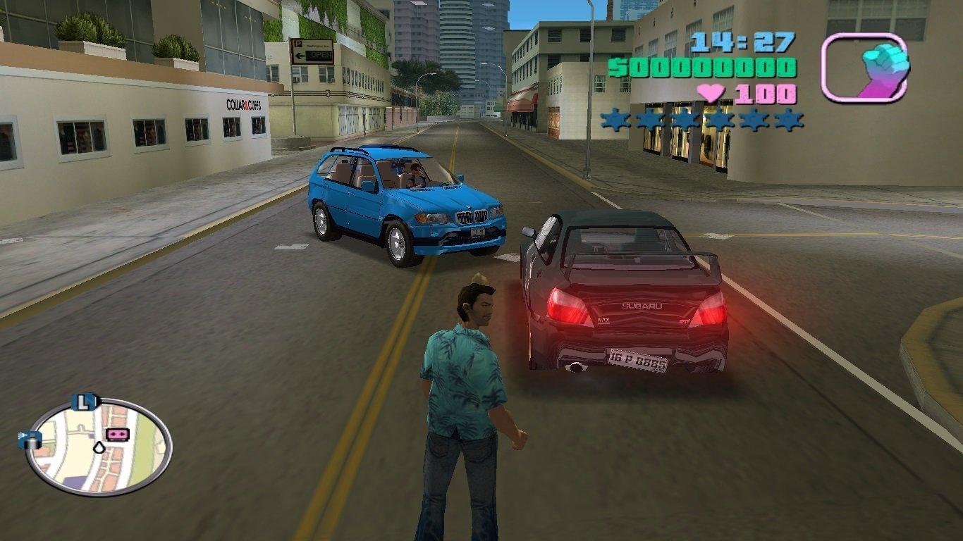 Скриншот GTA - Vice City Deluxe (2005) RePack скачать торрент бесплатно