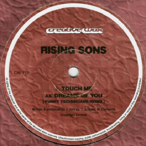 Download Rising Sons - Touch Me / Dreams Of You Remix mp3