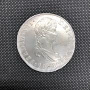 8 Reales 1821. Fernando VII. Nueva Guatemala. M -F03 IMG-7593