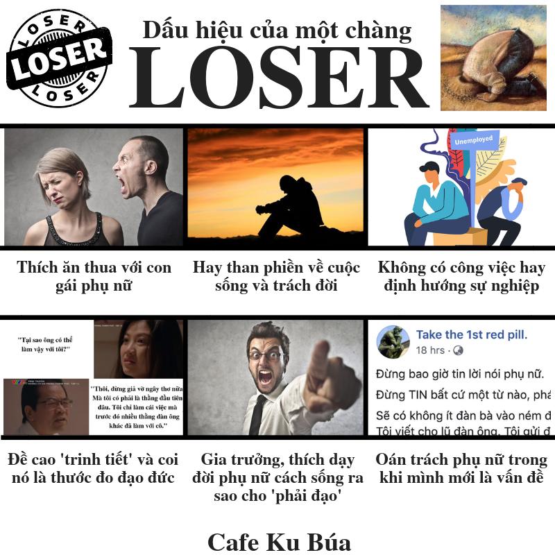 LOSER – 6 DẤU HIỆU CỦA MỘT CHÀNG LOSER