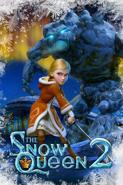 The Snow Queen 2 (2014) Dual Audio 720p BluRay [Hindi-English] x264 1.1GB MKV