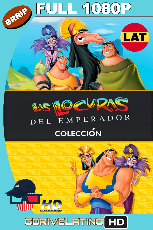 Las Locuras del Emperador (2000-2005) Colección BRRip 1080p latino-ingles MKV
