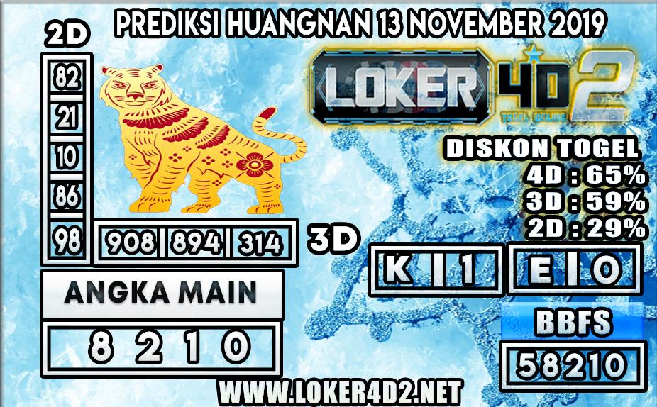 PREDIKSI TOGEL HUANGNAN POOLS LOKER4D2 13  NOVEMBER 2019