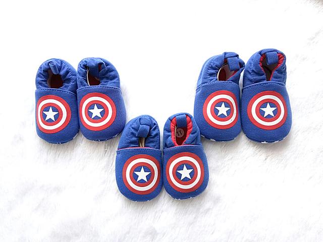 sepatu bayi kapten amerika