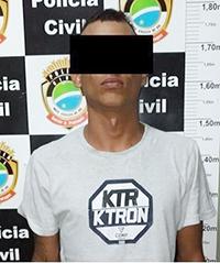 Jovem de 23 anos é preso com variedade de drogas