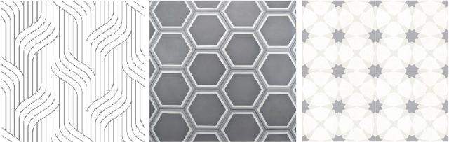 Керамическая монохромная плитка