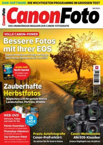 Cover: Canon Foto Magazin No 06 2021