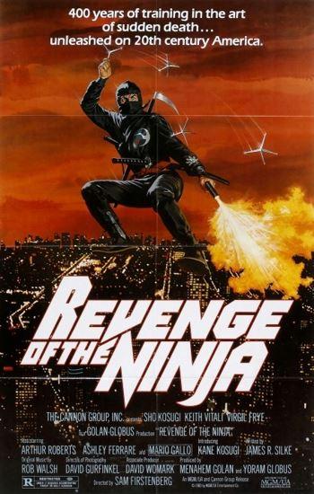 Ninja 2: Zemsta Ninja / Revenge of the Ninja (1983) PL.BRRip.XviD-GR4PE | Lektor PL