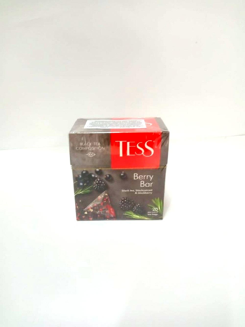 შავი ჩაი ბერი ბარ 20 პაკეტი-Black Tea Berry Bar 20 packs