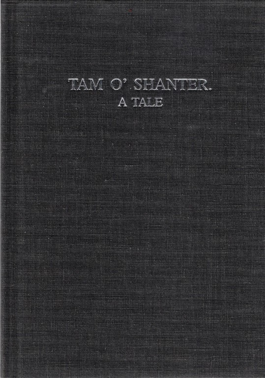 Tam o' Shanter. a Tale, Robert Burns
