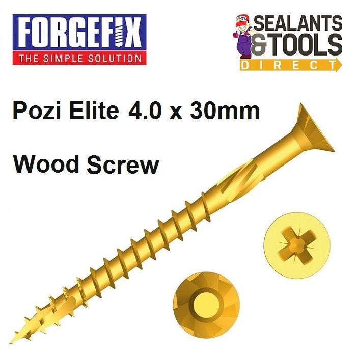 Forgefix-Pozi-Elite-Wood-Screws-4-0-30mm