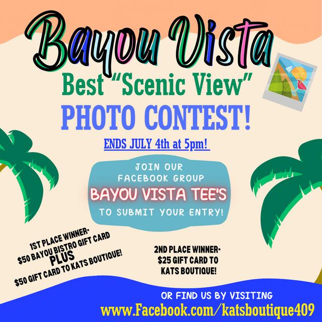 Bayou Vista Photo Contest