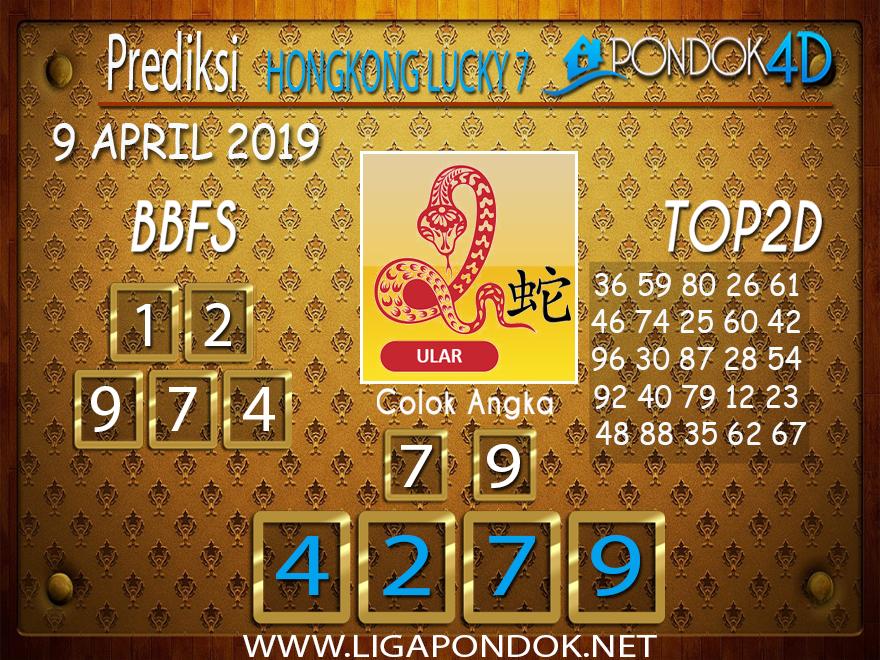 Prediksi Togel HONGKONG LUCKY 7 PONDOK4D 09 APRIL 2019