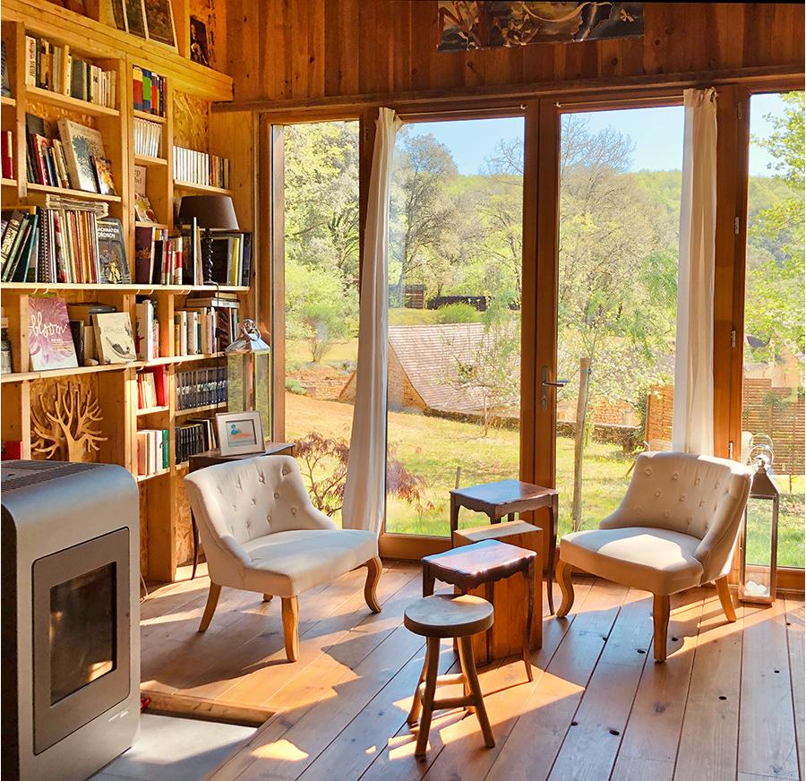 Vacation Rental - The Barn of Beynac - L'orée de Beynac