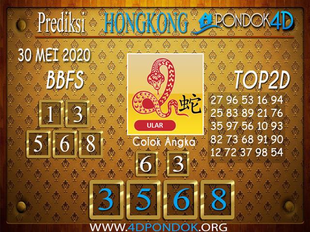 Prediksi Togel HONGKONG PONDOK4D 30 MEI 2020